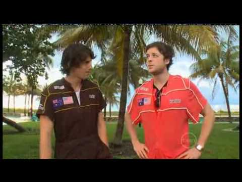 Hamish and Andy on ROVE live from Miami - American Caravan of Courage (2009)