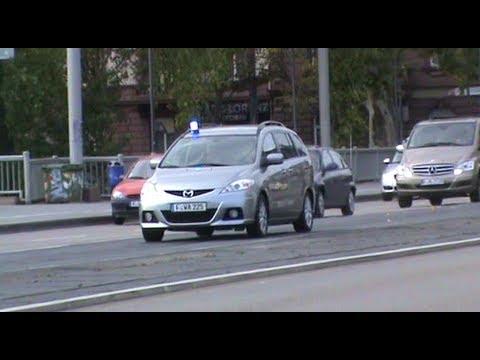 Werttransporter Deutsche Bundesbank + Polizei Frankfurt