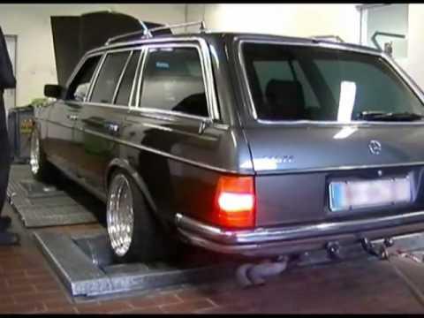 W123 V8 560te Auf Dem Pr 252 Fstand Youtube