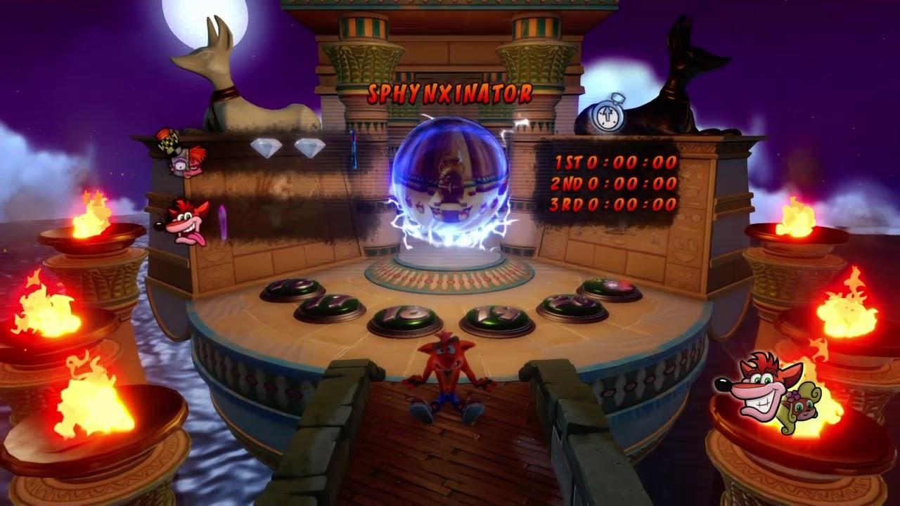 Secrets Of The Sphynx Crash Bandicoot N Sane Trilogy Youtube
