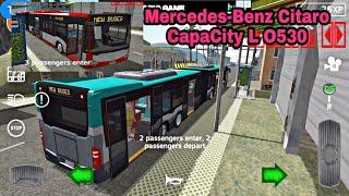 Public Transport Simulator v1.33: Mercedes-Benz Citaro CapaCity L Articulated (Bendy) Bus Gameplay screenshot 5
