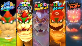 Evolution of Final Bosses in 3D Mario Games (1996-2021)