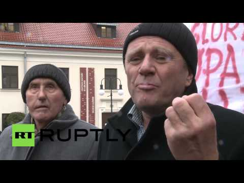 "Poland: Protests greet ""Nazi supporting"" Poroshenko in Lublin"