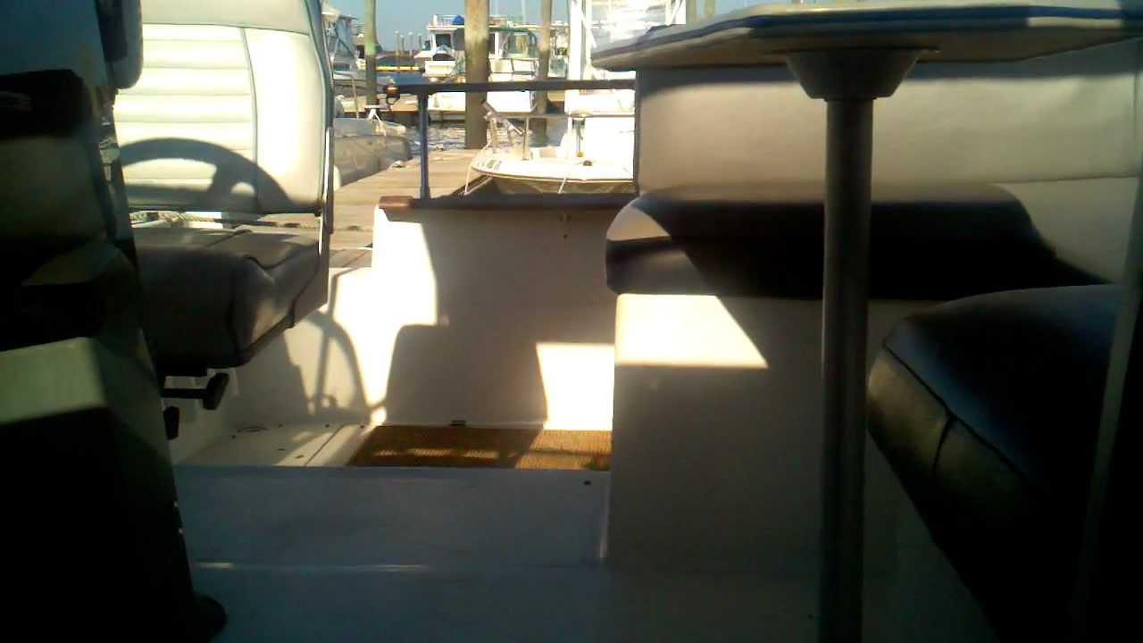 Cabin Wiring Diagram My Boat 2655 1989 Bayliner Ciera Sunbridge Youtube