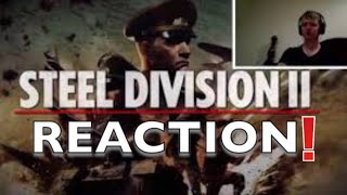 STEEL DIVISION 2 Trailer (2018) Reaction