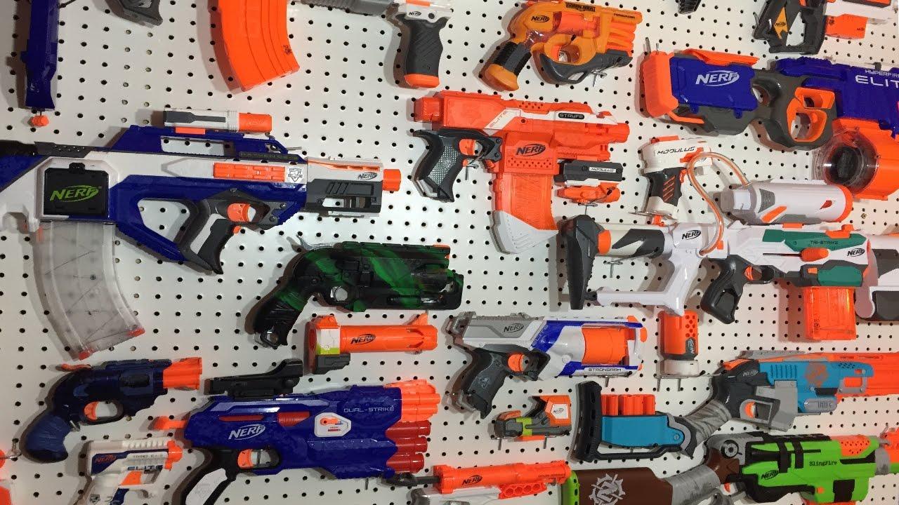 Nerf Gun Arsenal Building the Ultimate ...