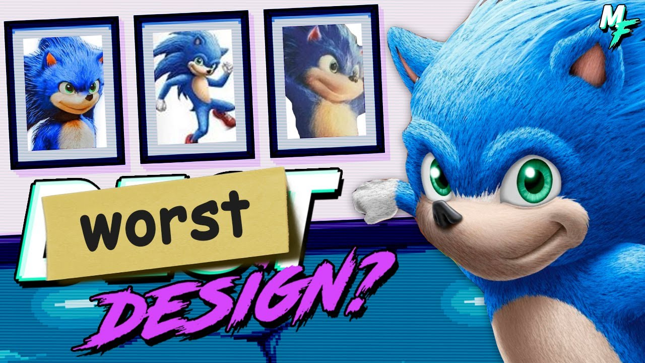 Is Movie Sonic The Worst Sonic Design Youtube