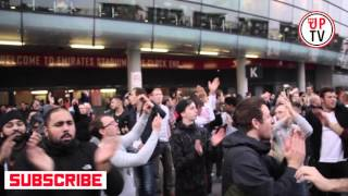 20 times 20 times! | Man United fans singing after Arsenal 3-0 Man Utd | Chant
