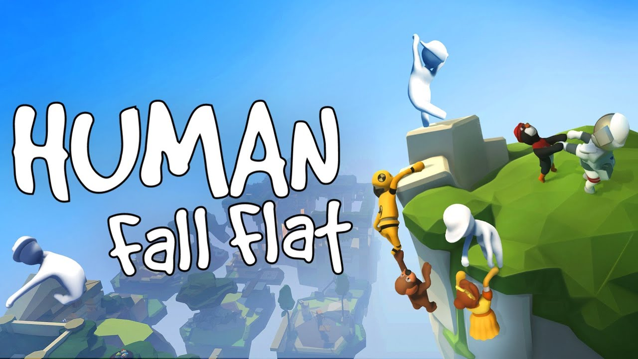 HUMAN FALL FLAT Ft. AlOO CLASHER 🤩 l !s TO SPONSOR