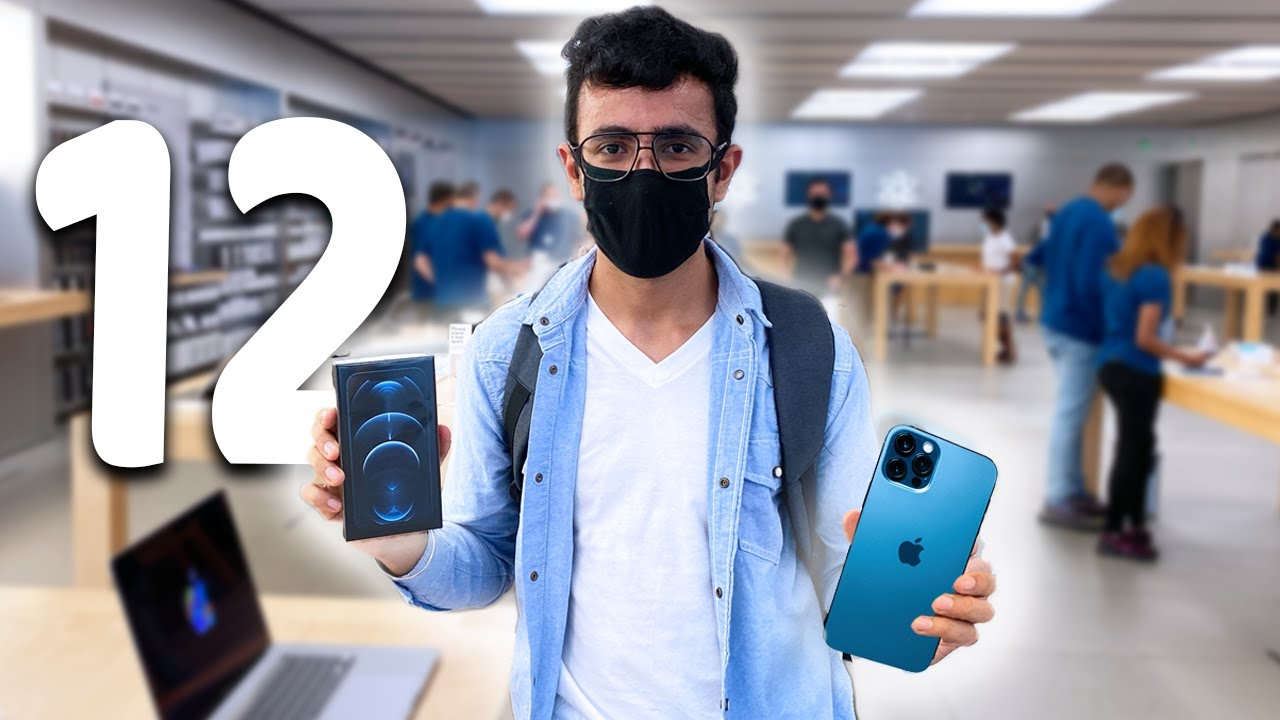 Bought iPhone 12 Pro on Launch Day with YouTube Money!! Cost India vs USA?