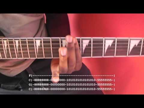 Becoming the Bull Guitar Lesson With Tab