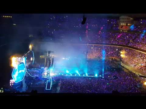 Milano Stadio San Siro concerto Coldplay 03/07/2017