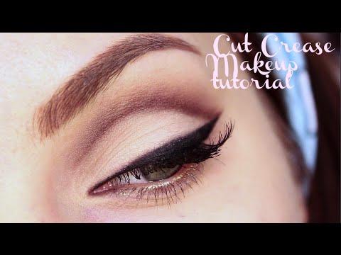 Cut crease eye makeup 2