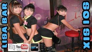 Lisa Bar 2 Soi 6 Pattaya Night Life Thailand Nov 8 2013