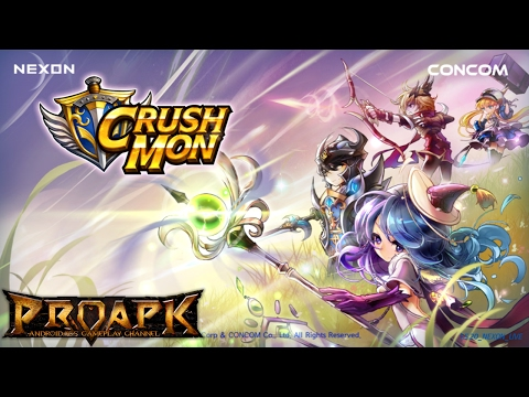 Pre-registration begins for CrushMon, a new mobile RPG from Nexon