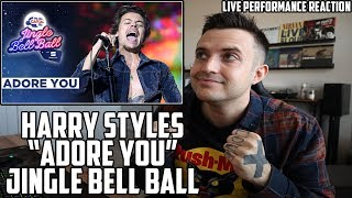Harry Styles - Adore You at the Jingle Bell Ball - REACTION