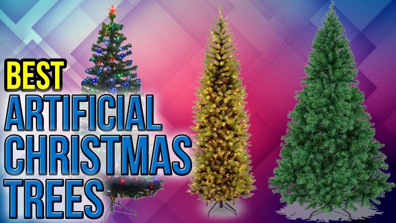 8 best artificial christmas trees 2017 - Large Artificial Christmas Trees