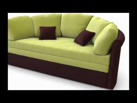 Круглый диван-кровать трансформер