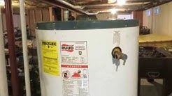 75 gallon water heater replacement with swg powerventer