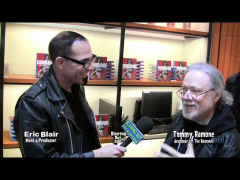 Ramones drummer Tommy Ramone talks about Johnny's autobiography Commando w Eric Blair