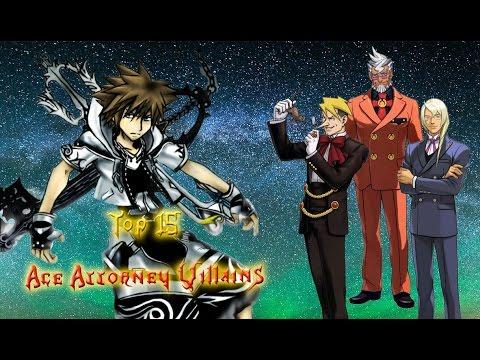 Top Fifteen Ace Attorney Villains