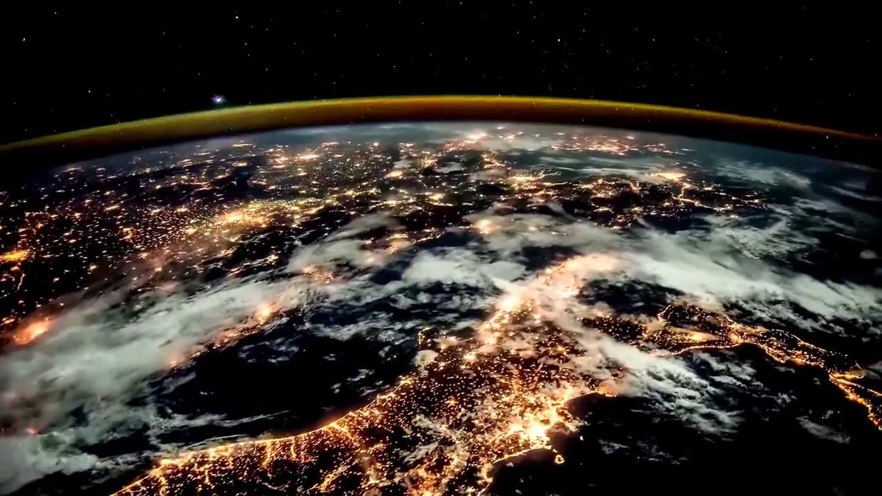 Penampakan Bumi Dilihat Dari Luar Angkasa International Space Station Youtube