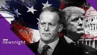 Sean Spicer on Donald Trump and the White House - BBC Newsnight