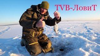 Зимняя рыбалка | Ловля подлещика в мороз на мормышку | Лед трещал аж страшно!