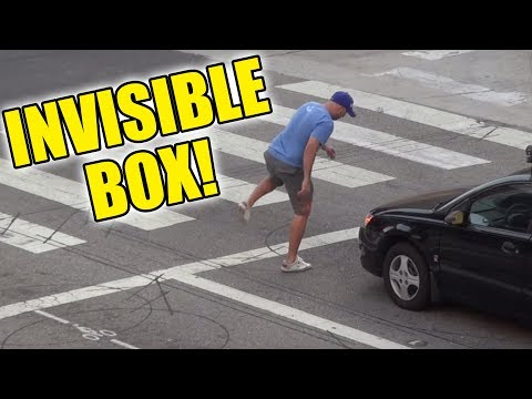 INVISIBLE BOX PRANK - HOW TO PRANK