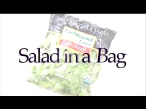 Salad in a Bag Explained by Inventor Myra Goodman, Earthbound Farm