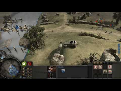 Company of Heroes Multiplayer (Defense of Vire River Valley)