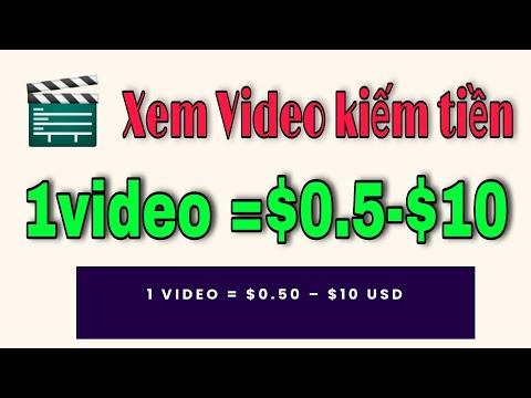 Web xem video kiếm tiền khủng tại nhà cực ngon