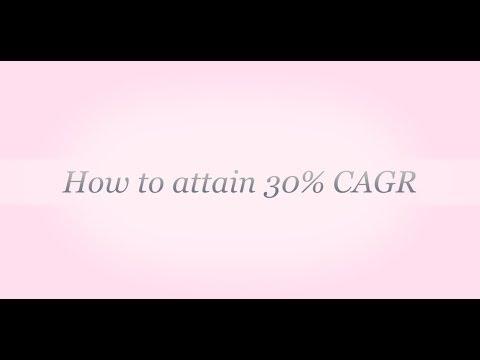 How to attain 30% CAGR - Shekar L