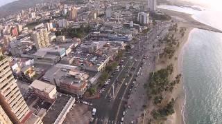 Paseo Colon, Puerto la Cruz Venezuela from above