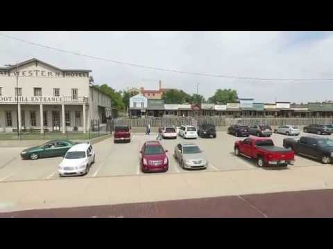 Dodge City, Kansas drone flyover