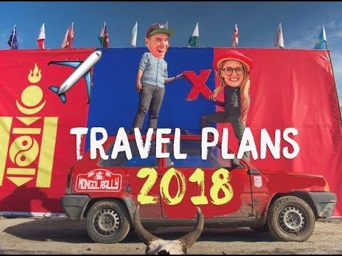Travel Plans 2018