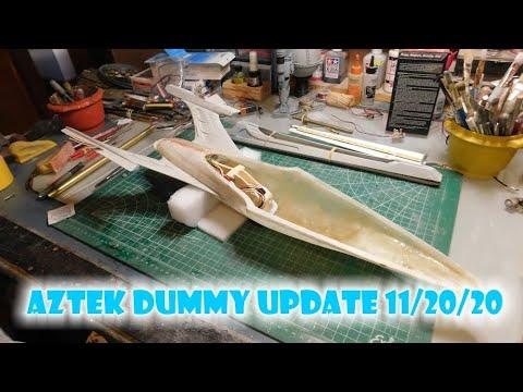Aztek Dummy Update 11/20/20 650 scale Enterprise Part 1