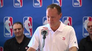 Mike Budenholzer Coach of the Year speech