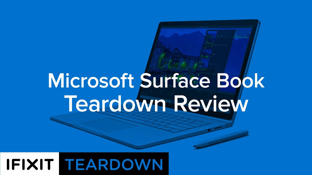 Microsoft Surface Book Teardown - iFixit