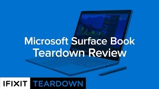 microsoft surface book teardown review