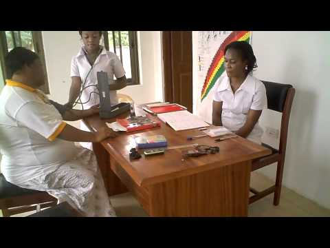 The Luke Clinic, Ghana - open for business! (July 2011)