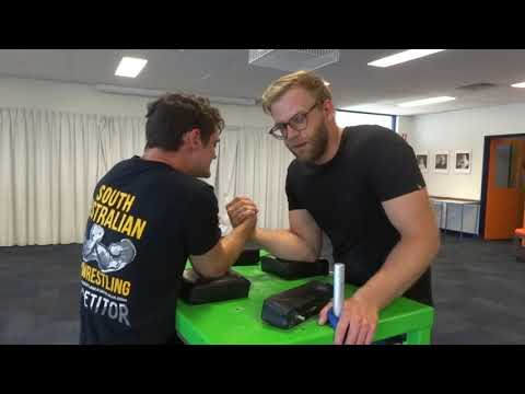 SA Arm Wrestling Club Feb 9th Training