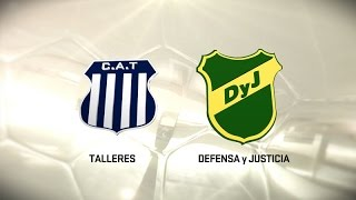 Talleres vs Defensa y Justicia full match