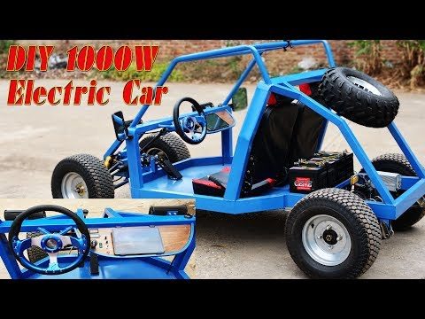 Build A 1000W Electric Gokart At Home - Electric Car - Tutorial - Part 2