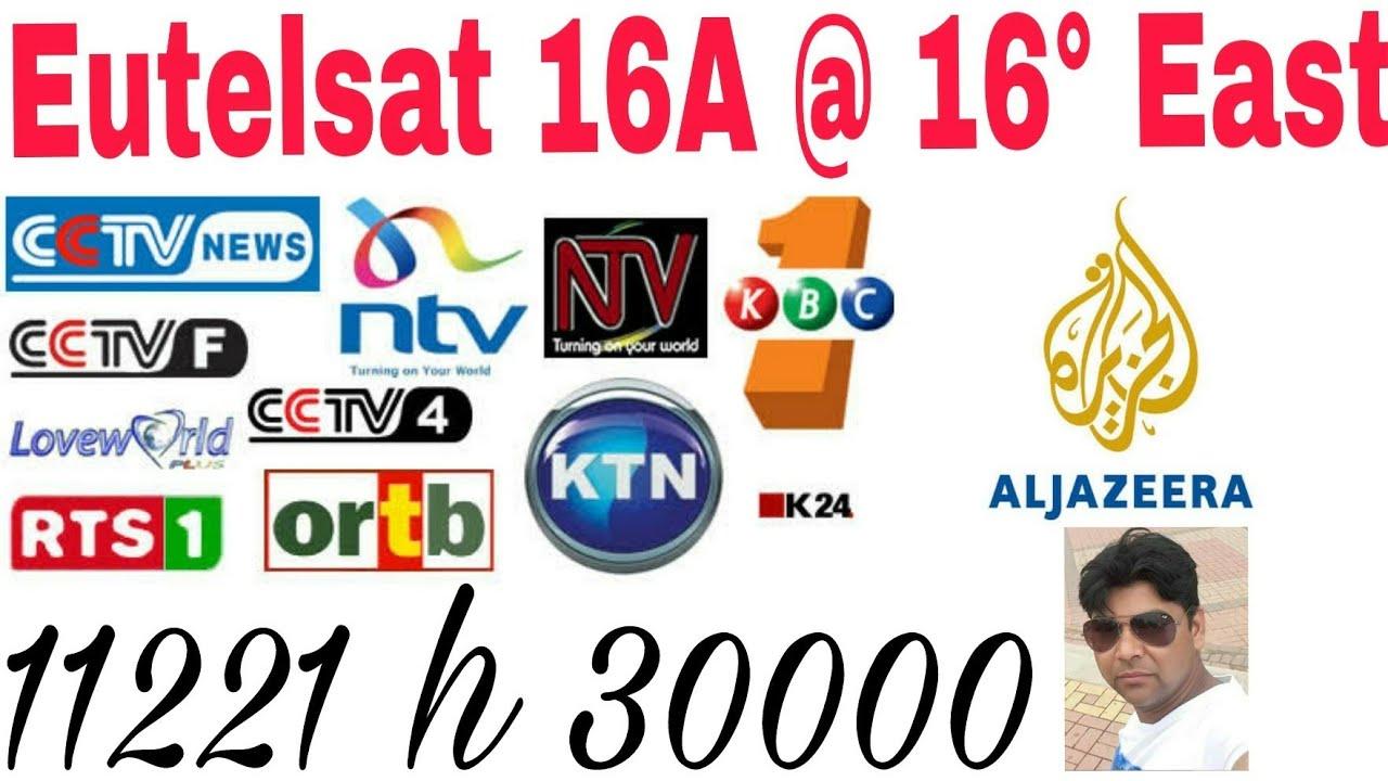 Eutelsat 16 A @ 16°East