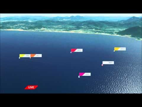 LIVE: Sanya to Auckland Leg Start   Volvo Ocean Race 2014-15