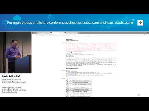 Training a Fast  Accurate and Scalable Natural Language Processing Pipeline - David Talby  PhD