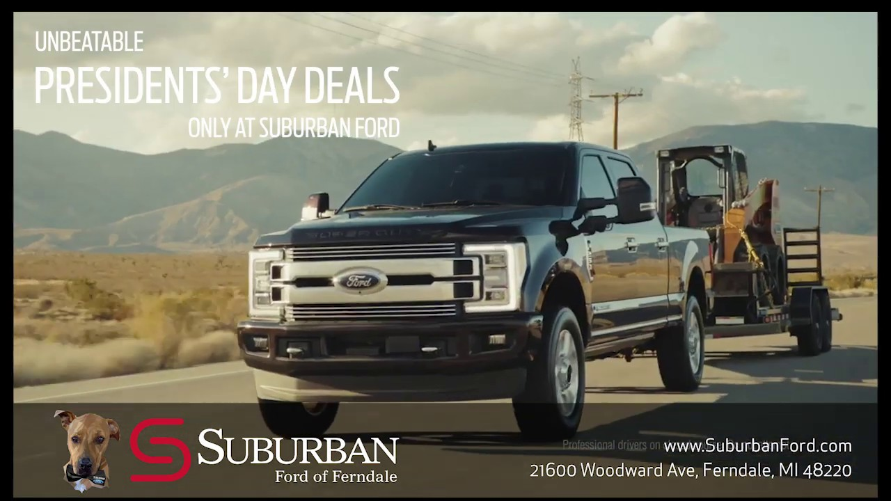Suburban Ford Ferndale >> Suburban Ford Of Ferndale Presidents Day Specials