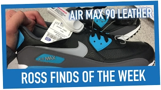 4a928c12169 ross in store haul  39 nike air max 90 kjcrd ice more