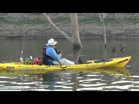 Monster Bass Fishing on Lake El Salto - Kayak Fishing